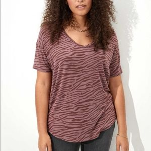 American Eagle Soft & Sexy Oversized T-Shirt Tee
